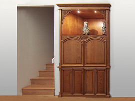 Built in Audio Visual Cabinet