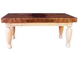 Hand Carved/turned Coffee Table