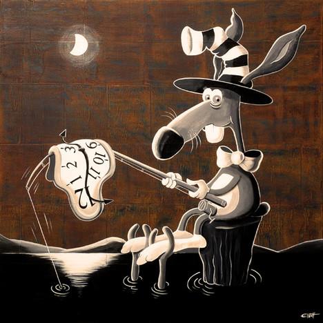 Salvador the rabbit