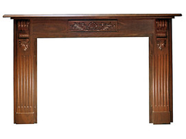 Traditional Fire Surround with corbels
