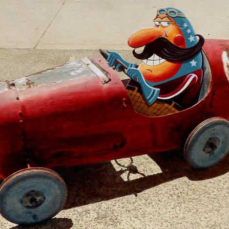 A race legend