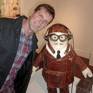 Me with Bomber pilot at L&K 2020.jpg