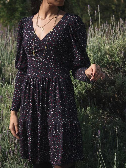 Gillian - Wrap Mini Dress