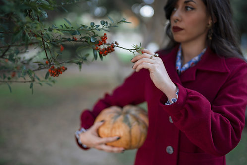 Sabrina - Red Coat