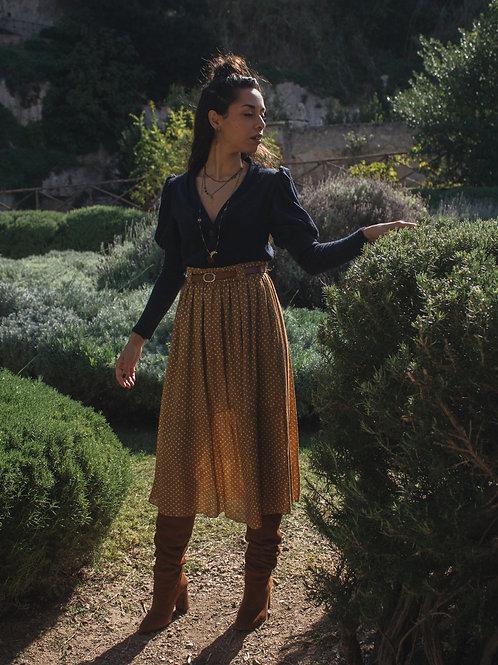 Linda - Dot Midi Skirt