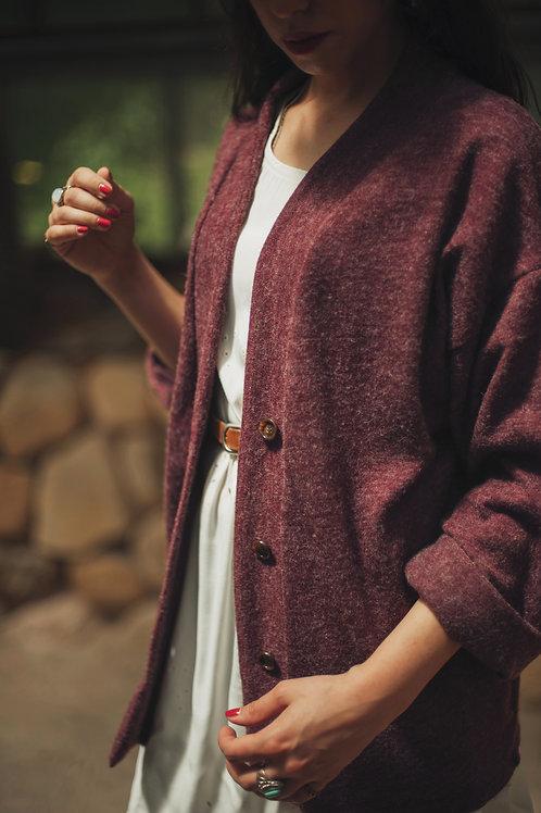 Florence - Maxi Simple Cardigan