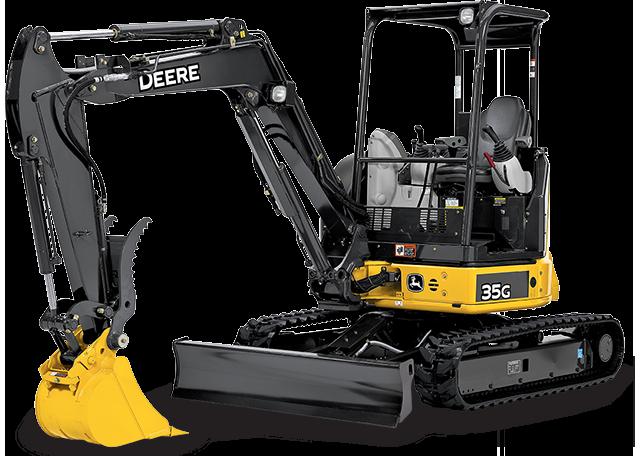 John Deere Mini Excavator