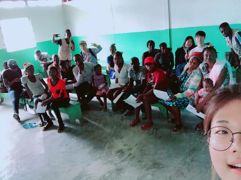 2018 Hello Haiti 와프제레미