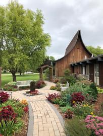 교회 정원