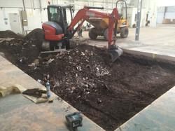 Machine Pit Preparation