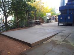 Reinforced Concrete Pad