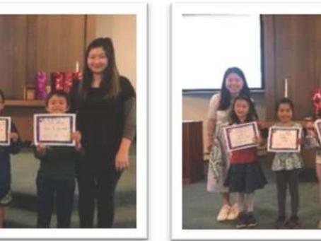 2018 After School Program Awards Ceremony