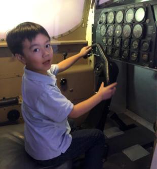 1st Grade Field Trip to Hiller Aviation Museum
