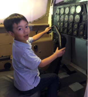1st Grade Field Trip to Hiller Aviation Museum