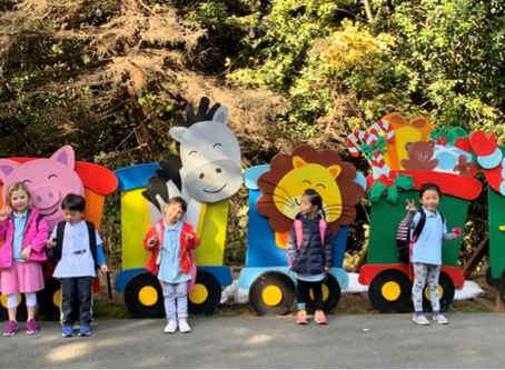 Young Fives Field Trip to the San Francisco Zoo