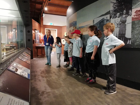 1st Grade Field Trip to the Los Altos History Museum