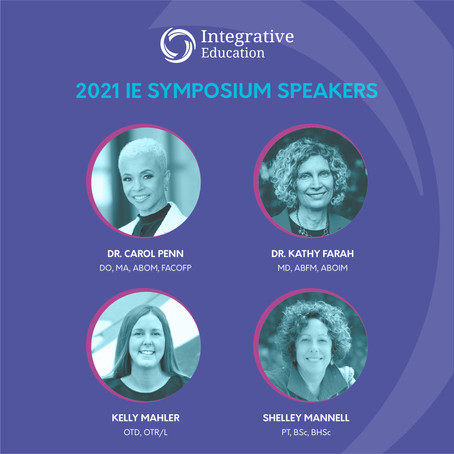 Integrative Education Symposium: The Place for Pediatric Professionals to Connect in 2021