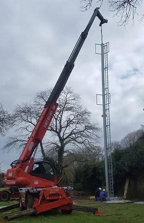 Levage pylône keronde