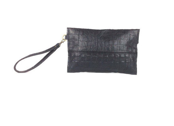 Leather Hand Clutch