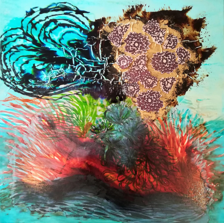 Anémones et coraux.