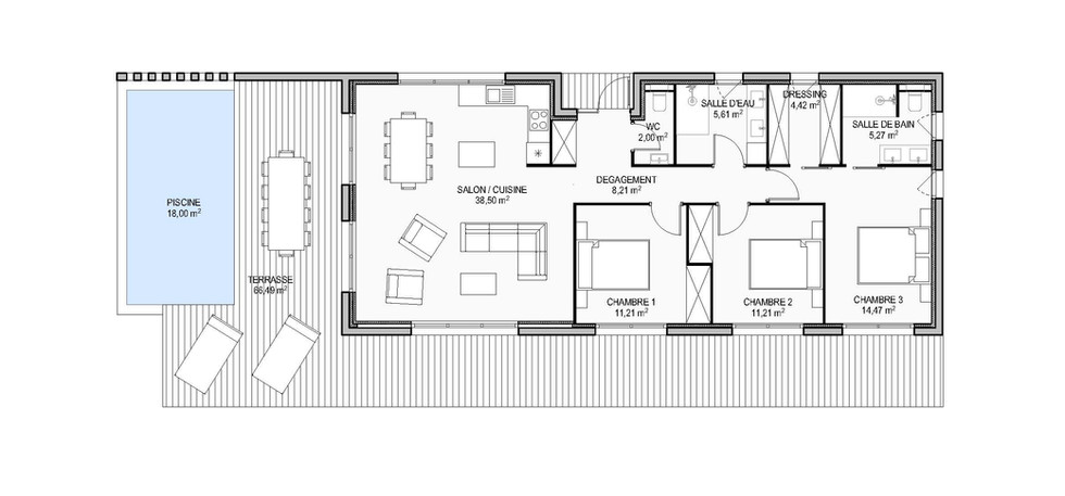 Projet de maison privée