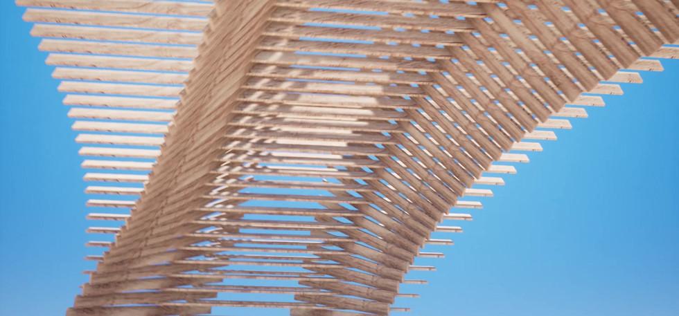Foglia - pavillon en bois