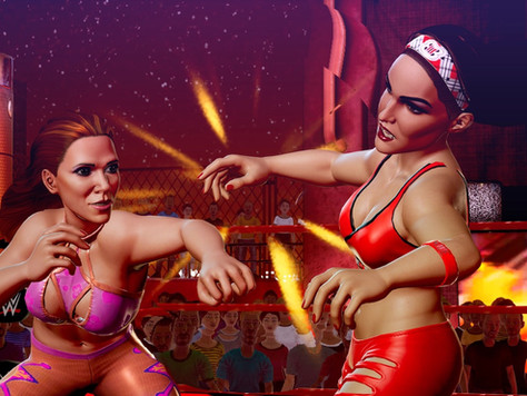 Mickie James character reveal for WWE 2K Battlegrounds!