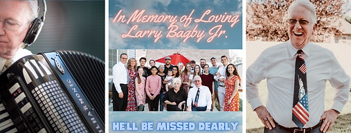 Larry Bagby Memory Donation