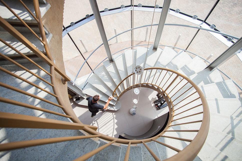 espiral stair