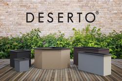 Deserto - Terrassenplatte & Pflanzengefäße