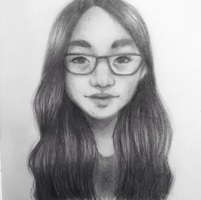Self Portrait, Jheanna Mae Carlos (Level 1)