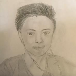 Self Portrait, Jesian Catabay (Level 1)