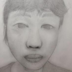 Self Portrait, Daryl Baniqued (Level 1)