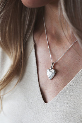 Tutti and Co Courage Necklace Silver