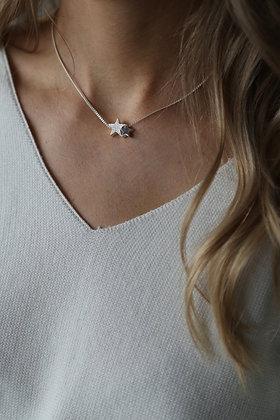 Tutti and Co Starlight Necklace Silver