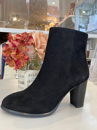 Unisa Black Suede Ankle boots