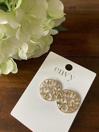 Envy Gold Tree of Life Earrings