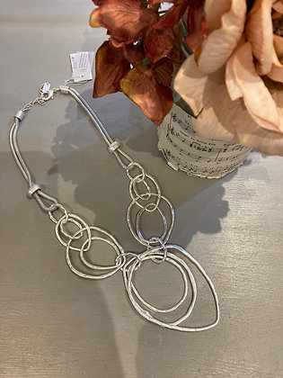 Envy Silver Statement Necklace