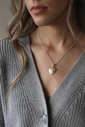 Tutti and Co Courage Necklace Gold