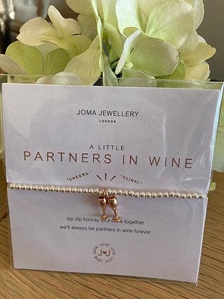 Joma A Little Partners in Wine Bracelet