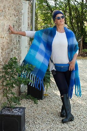Supersoft Bright Blue Scarf