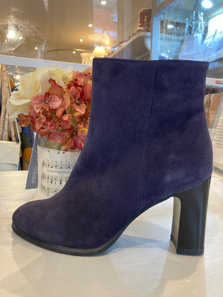 Unisa Navy Suede Ankle boots