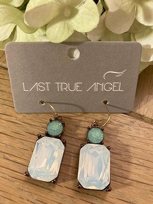 Last True Angel Deco Opal and Mid Green