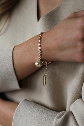 Tutti and Co Orb Bracelet Gold.