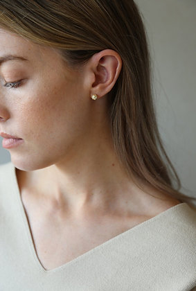 Tutti and Co Orb Stud Earrings Gold.