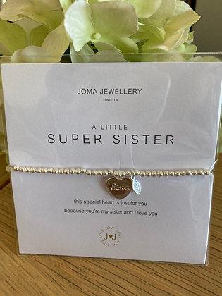 Joma A Little Super Sister Bracelet