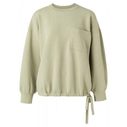 Yaya Boxy Sweater Eucalyptus