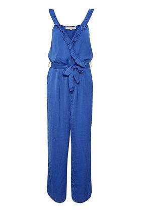 Cream Clothing Bright Blue Jumpsuit