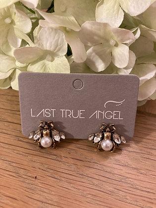 Last True Angel Bee Earrings