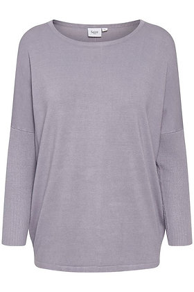 Saint Tropez Mila Sweater Dapple Gray